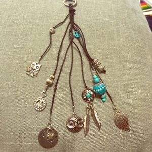 Jewelry - Necklace of Mystical Beads & Leather